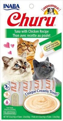 INABA Churu Lickable Purée Cat Treats