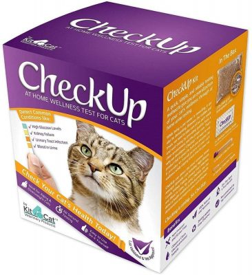 KIT4CAT CheckUp Kit at Home Wellness Test for Cats