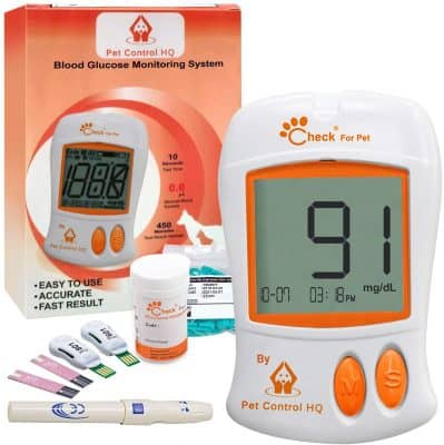 Pet Control HQ Glucometer for Dogs & Cats