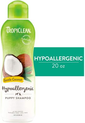 TropiClean Hypoallergenic Puppy Shampoo