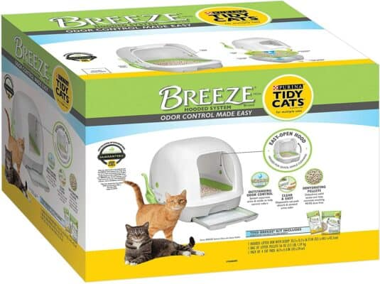 Purina Tidy Cats Hooded Litter Box System