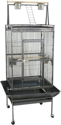 SUPER DEAL PRO Large Cage With Rolling Stand