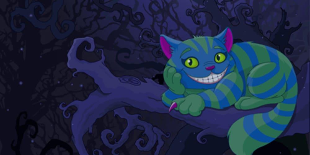 Cheshire cat from Disney Alice in wonderland