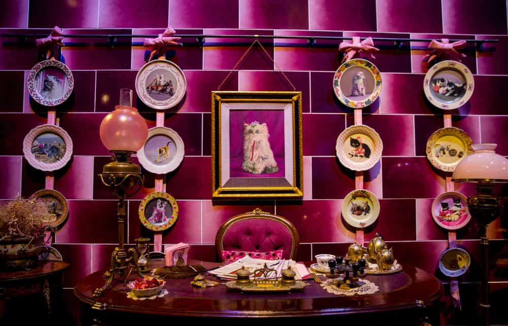 office of Dolores Umbridge at Harry Potter studios