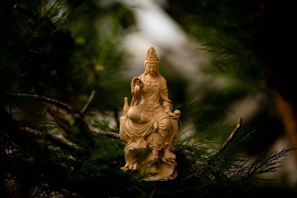 Japanese goddess of mercy